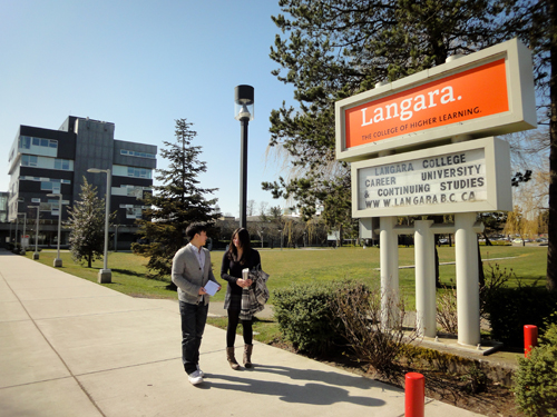 Copy (2) of langara-sign